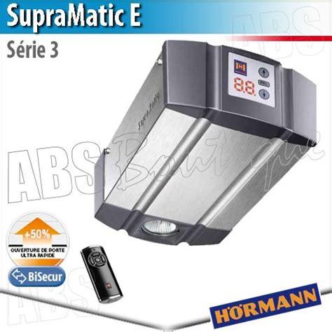 Moteur Supramatic E Série 3 + Télécommande Hs5 Bs