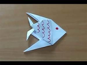 Comment Faire Des Origami : comment faire un poisson en origami poisson en papier ~ Nature-et-papiers.com Idées de Décoration