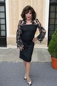 Joan Collins at Monte Carlo TV Festival Cocktail Party ...