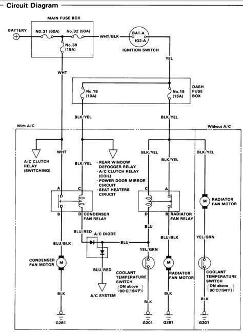 Honda Civic Wagon Wiring Diagram by Radiator Fan Not Running Help Hondacivicforum