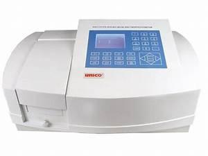 Unico Sq4802e Double Beam Uv  Vis Spectrophotometer  1 8 Nm