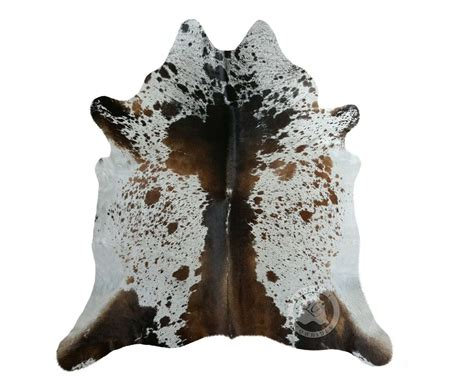 How To A Cowhide by New Cowhide Rug Leather Tricolor Salt And Pepper