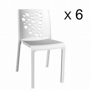 Lot De 6 Chaises Pas Cher : lot de 6 chaises de jardin pas cher ~ Teatrodelosmanantiales.com Idées de Décoration