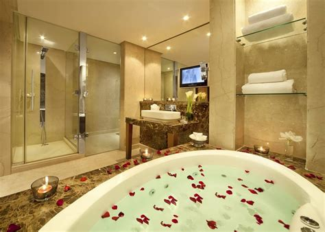 luxury hotel bathroom bahrain from gulf love happens blog