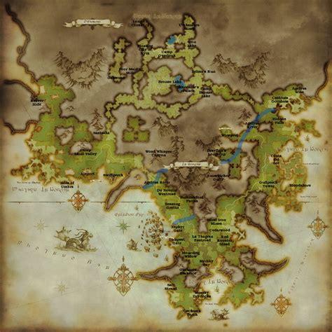 Final Fantasy Xiv Map Comparison Chrysalis