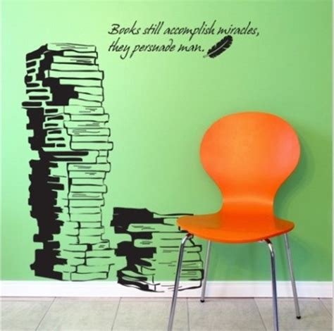 vinyl wall decal book children study room decals books words word home wall sticker stickers