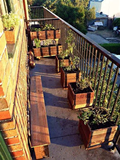 inspiring small balcony garden ideas