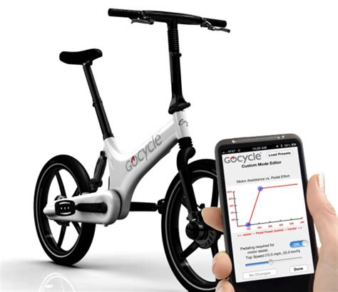 GoCycle Connect app lets you set speed, power and check ...