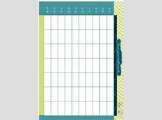 Planning orario settimanale da stampare Mamma Felice