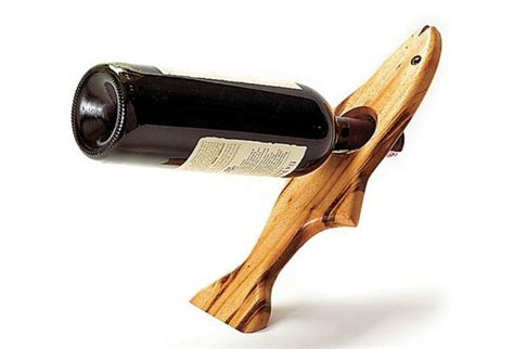 Wine Bottle Holder (free Downloadable Plan