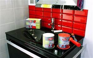 Peinture Spéciale Cuisine : repeindre le carrelage de la cr dence de ma cuisine c t maison ~ Melissatoandfro.com Idées de Décoration