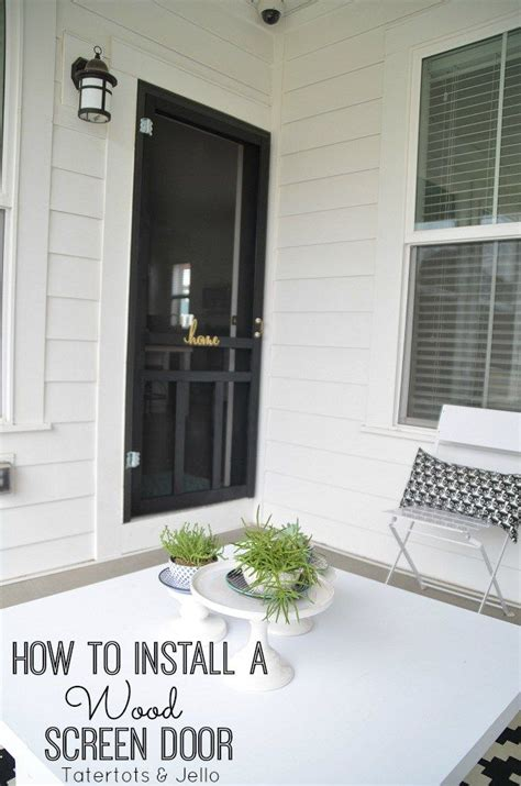how to install a wood screen door steps the o jays