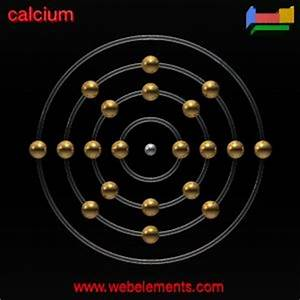 Calcium»properties of free atoms [WebElements Periodic Table]