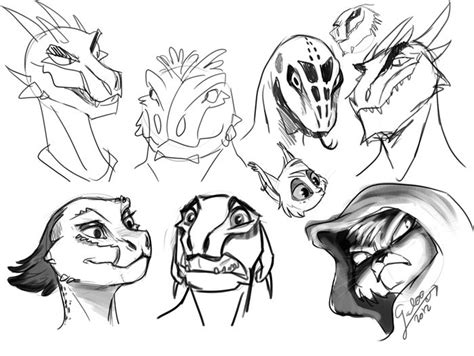 Skyrim Argonian And Khajiit Characters By Galoogamelady On