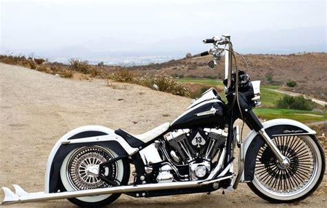 Buy California Gangster Softail Deluxe 21 Wheel Air Ride