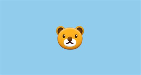 Bear Face Emoji On Samsung Touchwiz Nature Ux 2