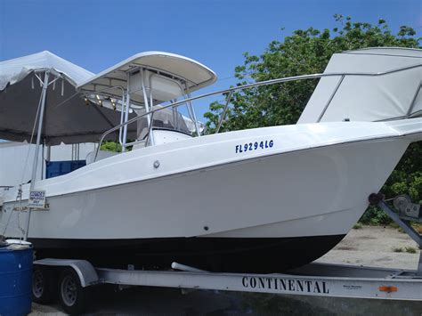 25 Ft Boats For Sale In Florida by 2000 Aquasport 22 Osprey Open Fisherman Boat Boat