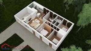 Maison Clé En Main Pas Cher : maison focus 91m2 modele 4 chambres petit prix ~ Premium-room.com Idées de Décoration