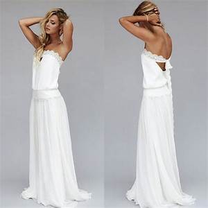 2015 vintage dresses 1920s beach wedding dress cheap With bohemian wedding dress cheap