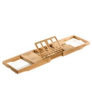 prosumer s choice bamboo bathtub caddy over tub tray