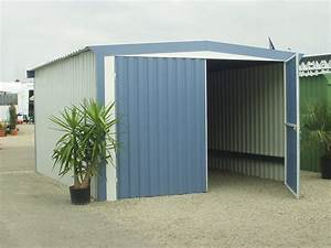 garage camping car metal garage metallique pour garer With porte de garage pour camping car