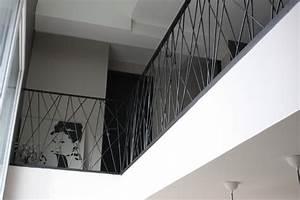 Garde Corps Contemporain : garde corps moderne terrasse en bois et balcon other metro par la forge des arts ~ Melissatoandfro.com Idées de Décoration
