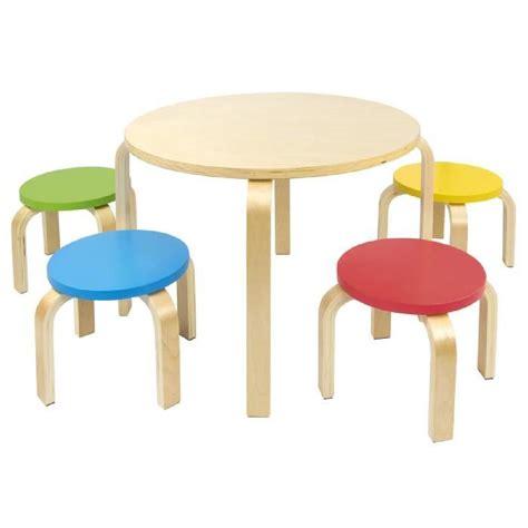 table et 4 chaises enfant meuble enfant mobilier chaise d