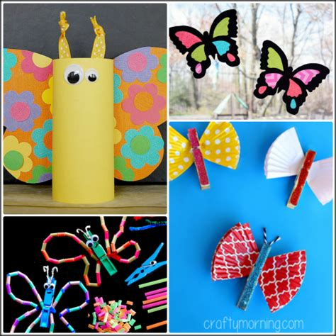 beautiful butterfly crafts for to make crafty morning 461 | Butterfly Crafts for Kids