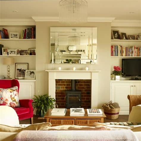 Wohnzimmer Mit Kamin Streichen  Raum Und Möbeldesign