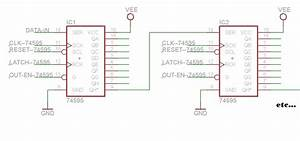 One Of Ten 74hc595 Shift Registers Have Wrong Output State