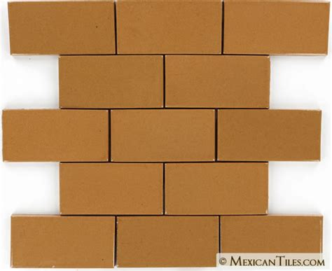 terra cotta ceramic tile mexican tile 2x4 188 terra cotta mexican tile
