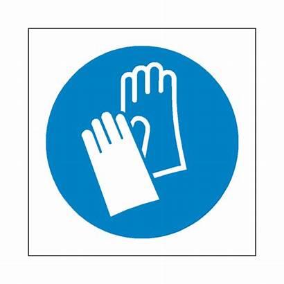 Gloves Safety Ppe Protective Wear Label Symbol