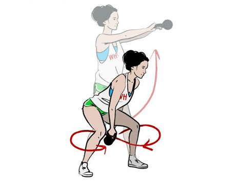 figure kettlebell workout moves flat stomach eight move fitness exercises health tummy