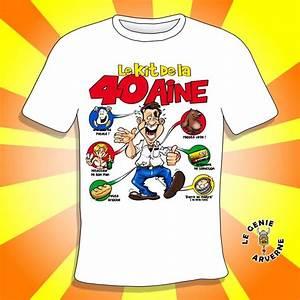 T Shirt 40 Ans : t shirt homme kit 40 aine ~ Farleysfitness.com Idées de Décoration