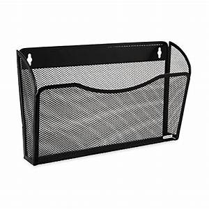 rolodex mesh collection single pocket wall file black With rolodex document holder