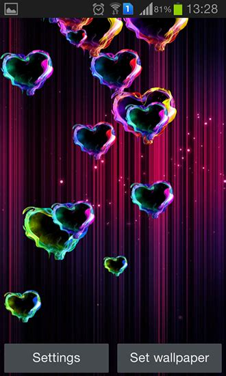 Follow us for regular updates on awesome new wallpapers! Magic hearts live wallpaper for Android. Magic hearts free download for tablet and phone.