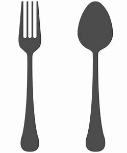 Fork black and white clipart kid - Cliparting.com
