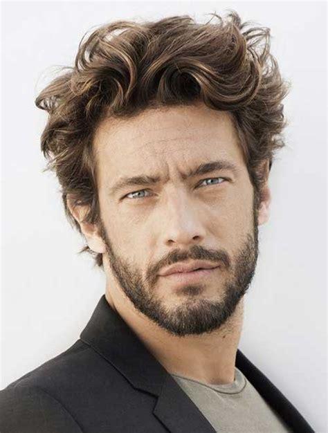 haircuts  wavy hair men mens hairstyles