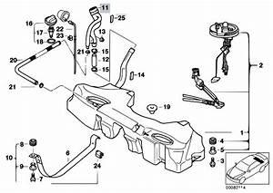 Original Parts For E39 525d M57 Touring    Fuel Supply   Fuel Tank
