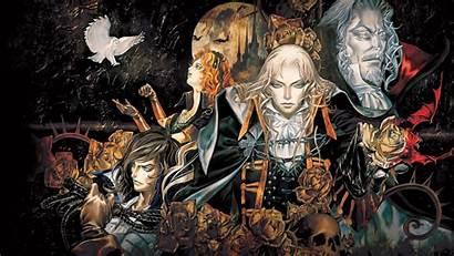 Castlevania Symphony Night Artwork Games Digital Theme