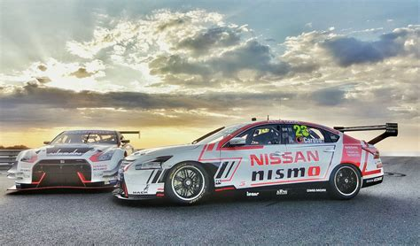 nissan launches 2016 altima v8 supercar and gt r nismo gt3 carscoops