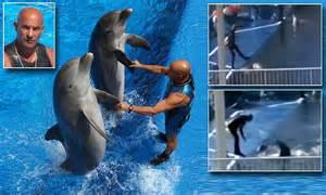 Dolphin Trainer Jose Luis Barbero For Georgia Aquarium Is
