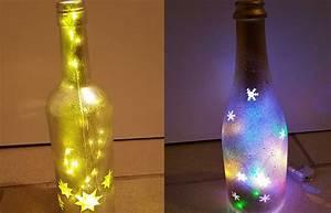 Leere Bilderrahmen Dekorieren : flaschenlicht selber bauen anleitung f r ein weinflaschenlicht tedox blog ~ Markanthonyermac.com Haus und Dekorationen