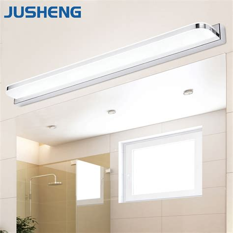 Linear Bathroom Lighting by Jusheng Modern Linear Led Wall Lights Fixtures Mirror