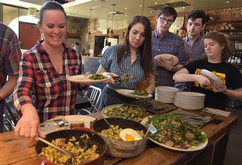 baltimore restaurant staffs bond  creative  family meal baltimore sun