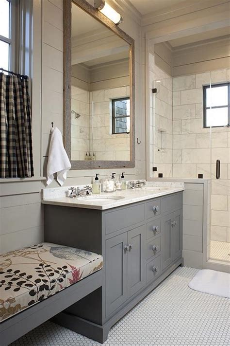25 Bathroom Bench And Stool Ideas For Serene Seated. Trundle Bunk Bed. Industrial Hooks. Home & Body Co. Fabric For Curtains. Funky Mirrors. Transitional Dining Room Sets. Carlton Construction. Tan Bedroom Ideas