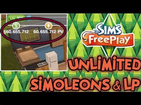 sims freeplay unlimited money  life points hack