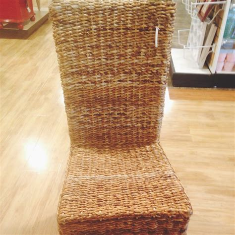 the homegoods mobile application high back wicker chair