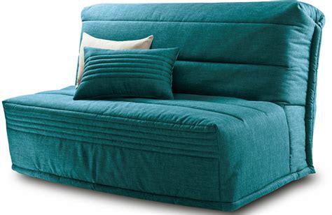 canapé lit en mousse bz chopin tissu turq banquette lit bz pas cher mobilier