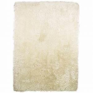 Tapis Shaggy Blanc : tapis shaggy tuft main blanc pearl flair rugs 80x150 ~ Preciouscoupons.com Idées de Décoration